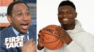Download 'What can go wrong, will go wrong' – Stephen A. reacts to the Knicks losing out on Zion | First Take Video