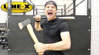 Download 100 LAYERS OF LINE-X (DANGER ALERT) UNBREAKABLE WALL Video
