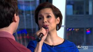 Download Lea Salonga and Brad Kane perform 'A Whole New World' on Good Morning America Video