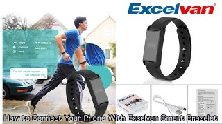 Download [New] How to Connect Your Phone With Excelvan Smart Bracelet Video