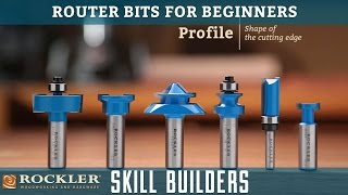 Download Router Bits for Beginners | Rockler Skill Builders Video