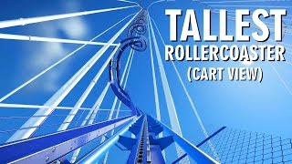 Download Planet Coaster Gameplay - Tallest Roller Coaster - CART VIEW Video