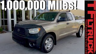 Download Meet the One Million Mile Toyota Tundra Still with Its Original V8! Video
