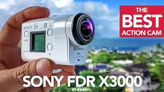 Download The Best Action Camera — Sony FDR X3000 In-Depth Review [4K] Video