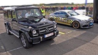Download Mercedes-AMG C63 S Edition 1 vs G63 AMG vs CLA45 AMG vs M3 Video