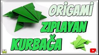 Download Origami - zıplayan kurbağa yapımı Video