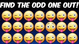 Download Can You Find the Odd One Out in These Pictures? Odd one out brain teaser riddles Video