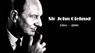 Download John Gielgud - William Shakespeare's Sonnets 18, 116 and 130 Video