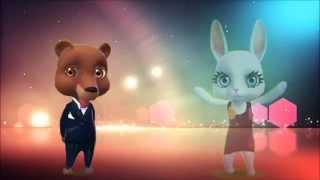 Download Zoobe Зайка и Мишка, Я тебя украду! Video