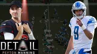 Download Peyton Manning Analyzes Matt Stafford's & Josh Rosen's Pre-snap Reads Video