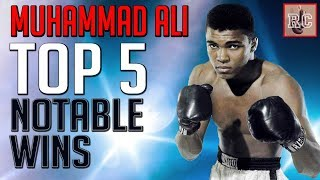 Download Muhammad Ali - Top 5 Notable Wins Video