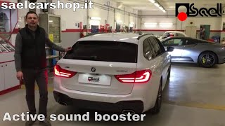 Download BMW 5 G31 - Kufatec sound booster pro Video