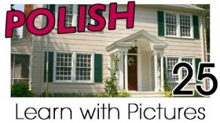 Download Learn Polish with Pictures - In the Home Video