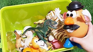 Download TOY STORY Mr Potato Head assemble! Animals Toys Baby find Mom Learning Video Part14 Video
