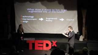 Download Living in an augmented reality city of the future: Morris May and Ryan Pulliam at TEDxOjai Video