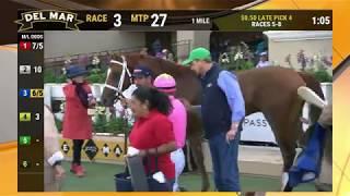 Download The Stiff wins race 2 at Del Mar 11/22/19 Video