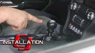 Download 2015-2017 Mustang GT Steeda Short Throw Shifter Race Tri-Ax Manual Transmission Installation Video