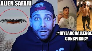 Download I found the CREEPIEST CONSPIRACY THEORIES | YOU WONT BELIEVE THESE CONSPIRACIES (UFO SAFARI) | ALI H Video
