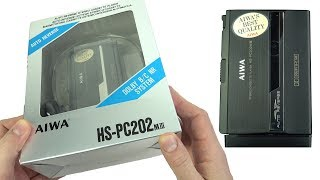 Download BNIB '90s Aiwa HS-PC202 Mk III *Personal Stereo* - Unboxed & Tested Video