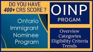 Download 🇨🇦 OINP- Ontario PNP Program Explained (PART 1) Express Entry 2018 Video