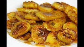 Download Cinnamon Ginger Brown Sugar Plantain #MeatFreeMonday | CaribbeanPot Video