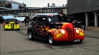 Download Muscle Cars, Hot Rods & Classics Leaving American Car Show 2017 ! Video