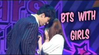 Download BTS with Girls - Cute Moments Video