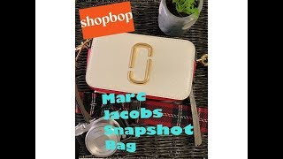 Download MARC JACOBS SNAPSHOT Camera Bag: Unboxing and Close Up Shots Video