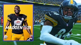 Download Antonio Brown Is The Madden 19 Cover Athlete! Check Out The Reveal.. Video