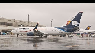 Download AeroMexico landing at YYZ Toronto runway 05 from Mexico City. Video