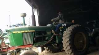Download Push Starting an old 4020 Video