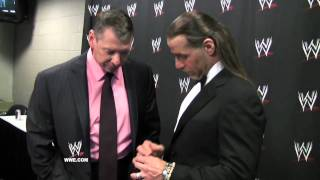 Download WrestleMania XXVII Diary: Shawn Michaels receives his Hall of Fame ring Video
