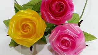 Download วิธีพับดอกกุหลาบบานวันวาเลนไทน์ 3 by มายมิ้นท์ (Ribbon Rose Valentine's day 3) Video