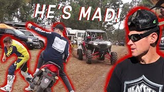 Download Father and Son Bonding at Motocross Track! Video
