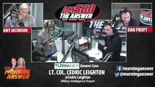 Download Chicago's Morning Answer - Lt. Colonel Cedric Leighton - March 22, 2017 Video