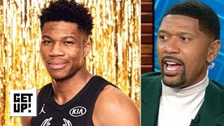 Download Giannis and Joel Embiid can't make up for East's weak crop of All-Stars – Jalen Rose | Get Up! Video