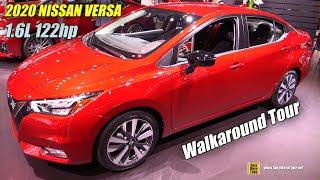 Download 2020 Nissan Versa - Exterior and Interior Walkaround - Debut at 2019 NY Auto Show Video