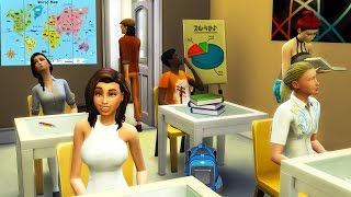 Download The Sims 4 - GOING TO SCHOOL!! (Sims 4, Episode 33) Video