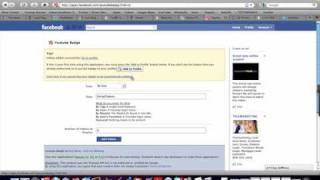 Download YouTube Badge on Facebook Tutorial by Emma Tiebens Video
