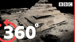 Download 360° Travel inside the Great Pyramid of Giza - BBC Video