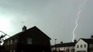 Download Big Thunderstorm In London. Video