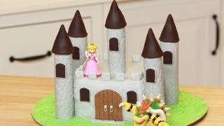 Download HOW TO MAKE A CASTLE CAKE - NERDY NUMMIES Video