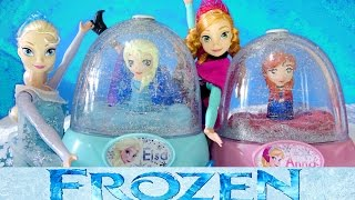 Download FROZEN ELSA GLITTER GLOBES How to Paint Elsa Anna Olaf 3 Disney Snow Domes Video