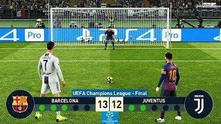 Download PES 2019 | Barcelona vs Juventus | Final UEFA Champions League (UCL) | Penalty Shootout Video