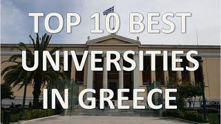 Download Top 10 Best Universities In Greece/Top 10 Mejores Universidades De Grecia Video
