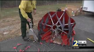 Download Crews use special bombs to fight north Georgia wildfires Video