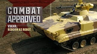 Download Vikhr: Reborn as Robot. Russian UGV equipped with drones and a precision battle module Video