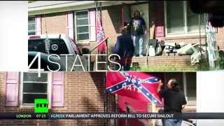 Download 'Heritage Not Hate': People in Georgia bring back confederate flag after ban imposed Video