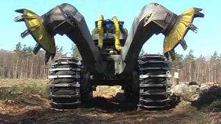 Download Scarifier Bracke Forest T26.a - Disc trencher Video