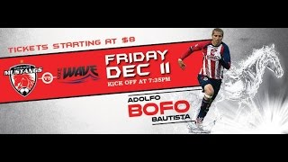 Download Chicago Mustangs vs Milwaukee Wave Spanish Webcast Video